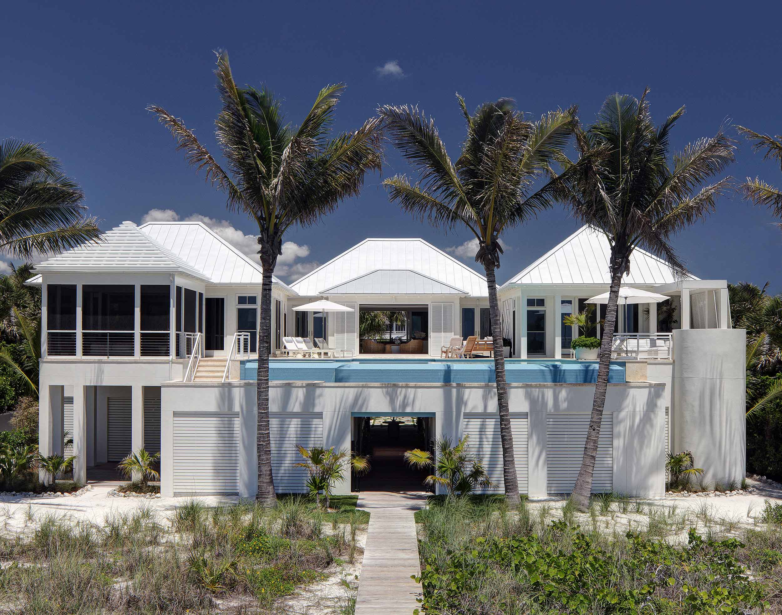 Florida ocean front luxury residence photography