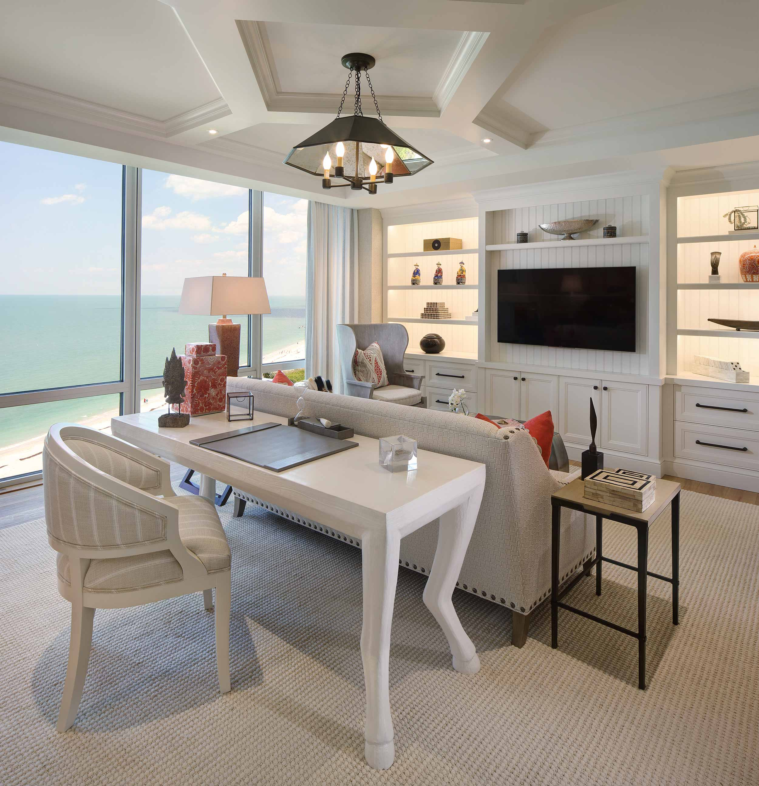 Florida residential photography with ocean view