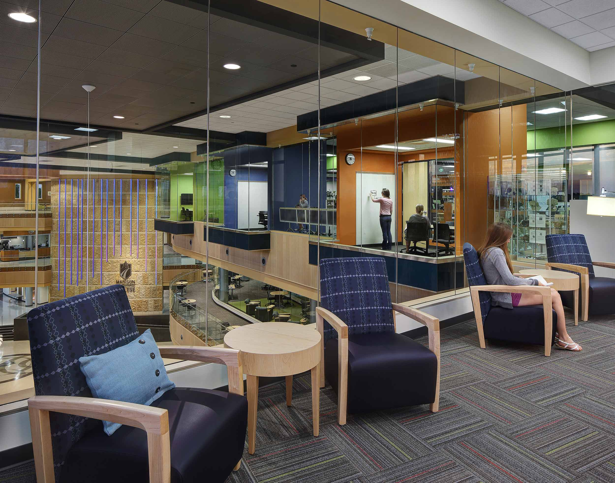 Madison commercial interior design photography