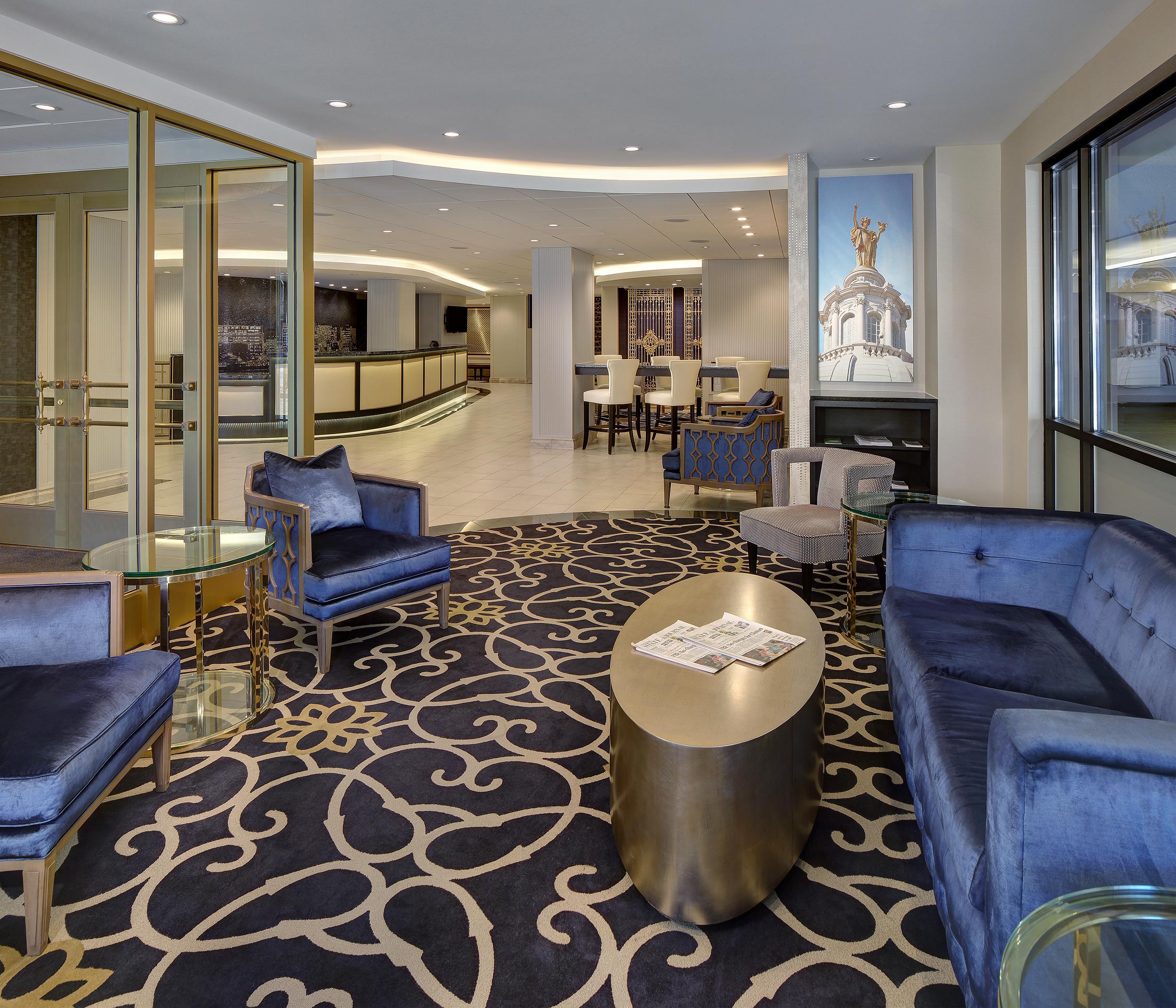 Madison hotel lobby photography