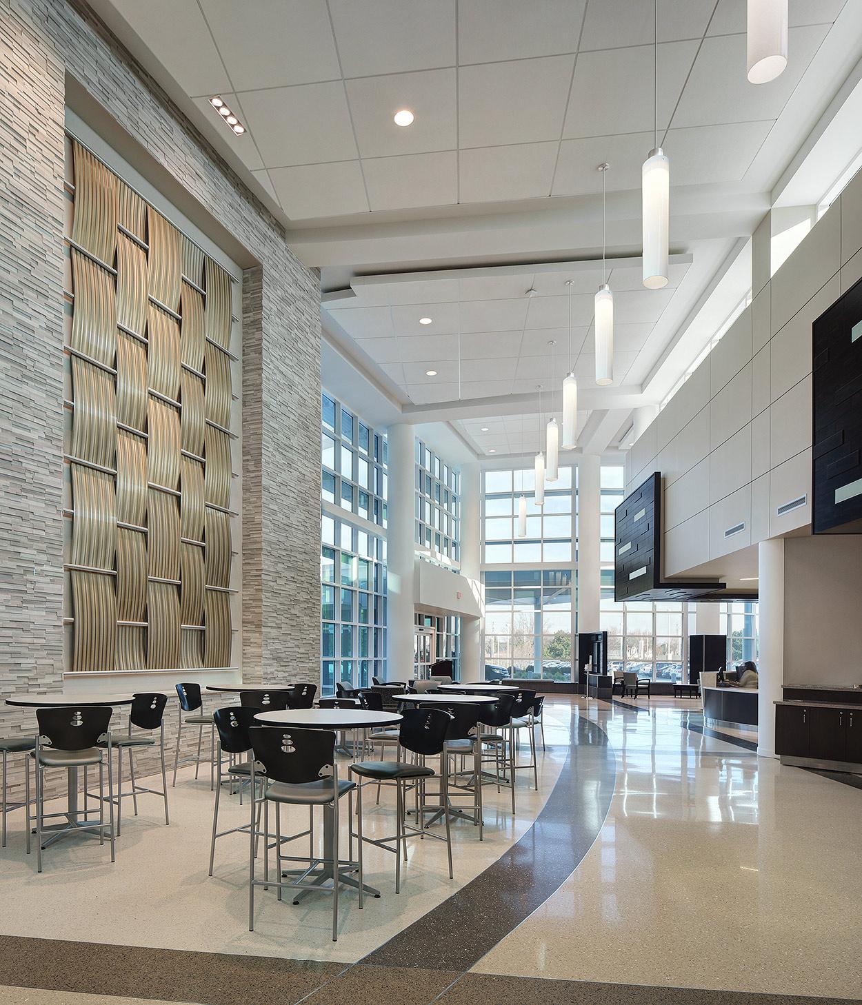 Chicago IL hospital lobby photographer