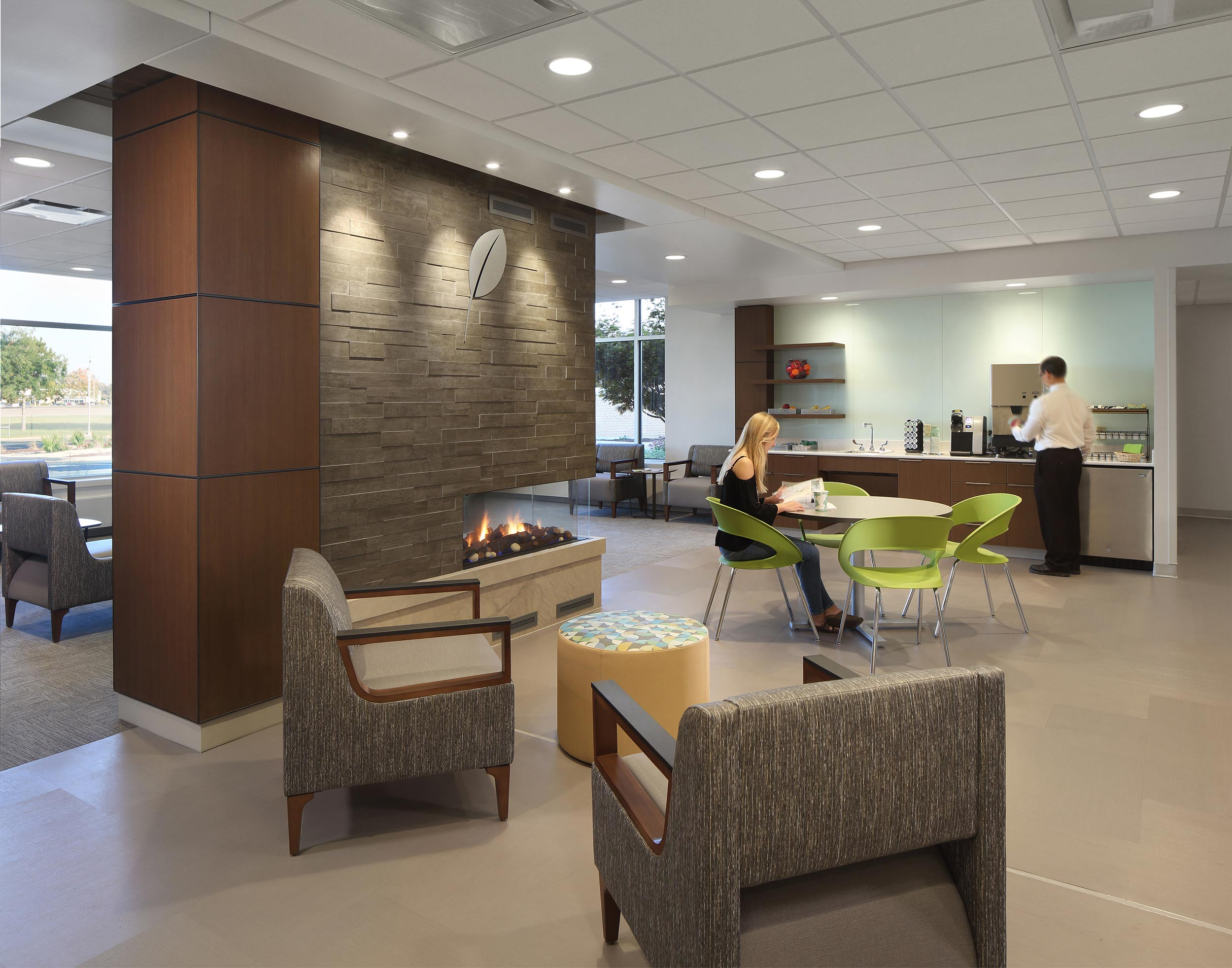 Medical clinic architectural photography