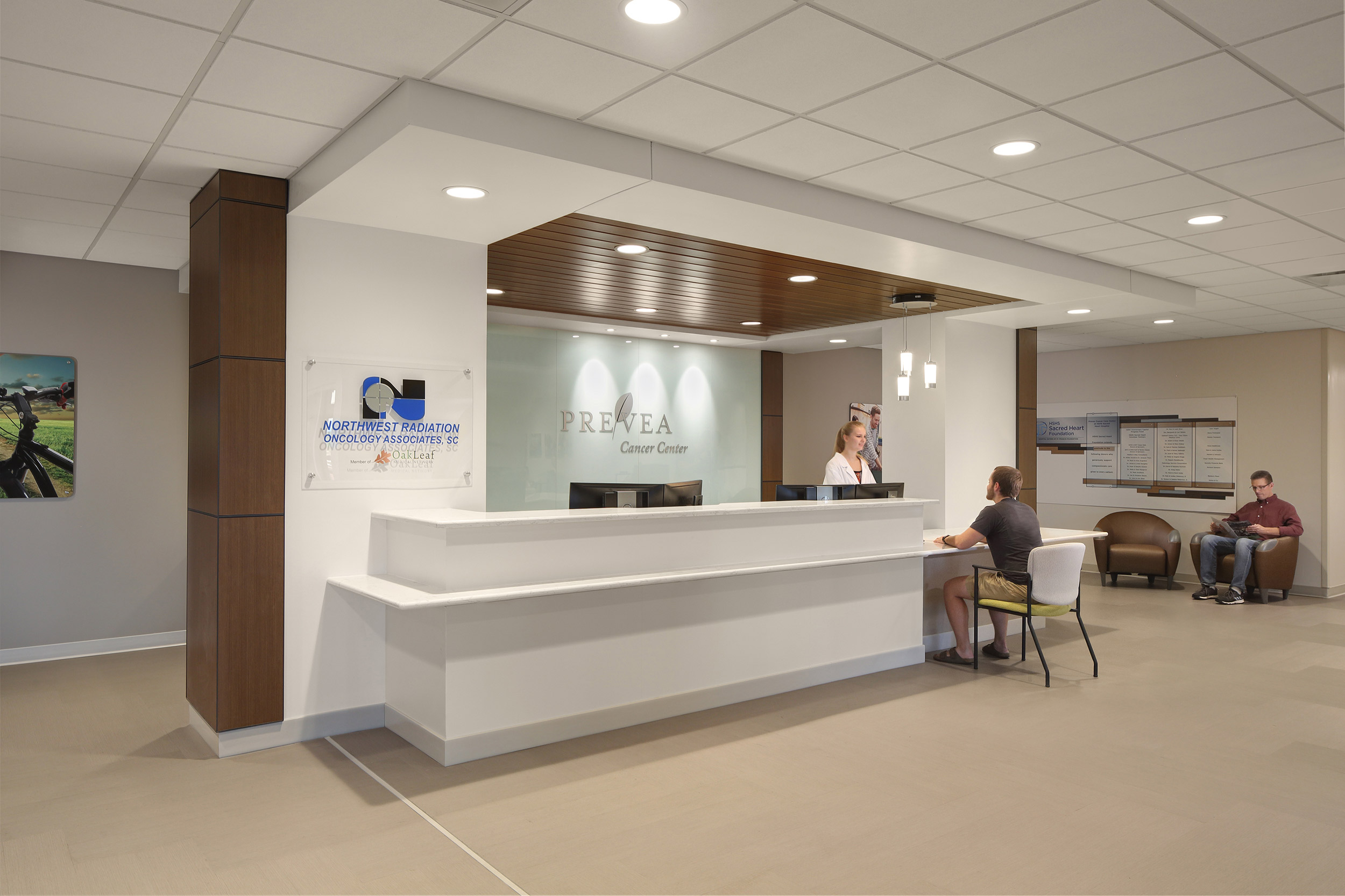 Medical facility interiors photography