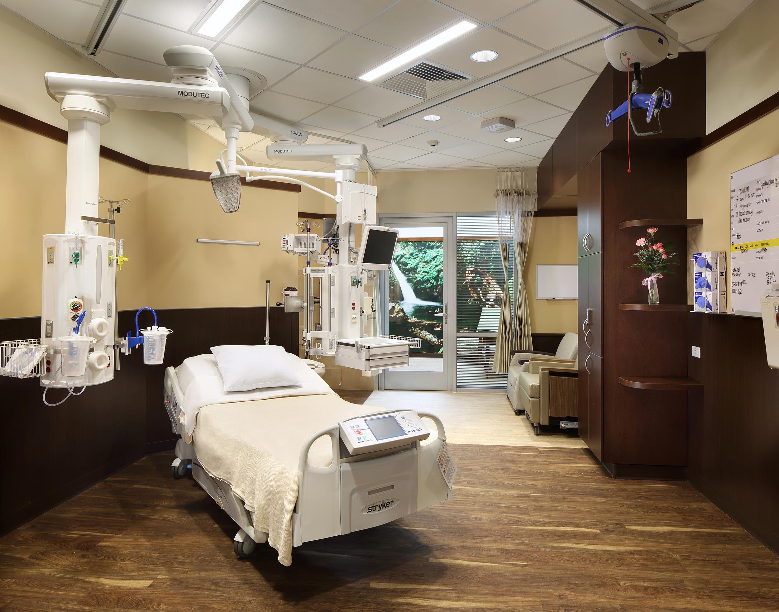Hospital interior photographer