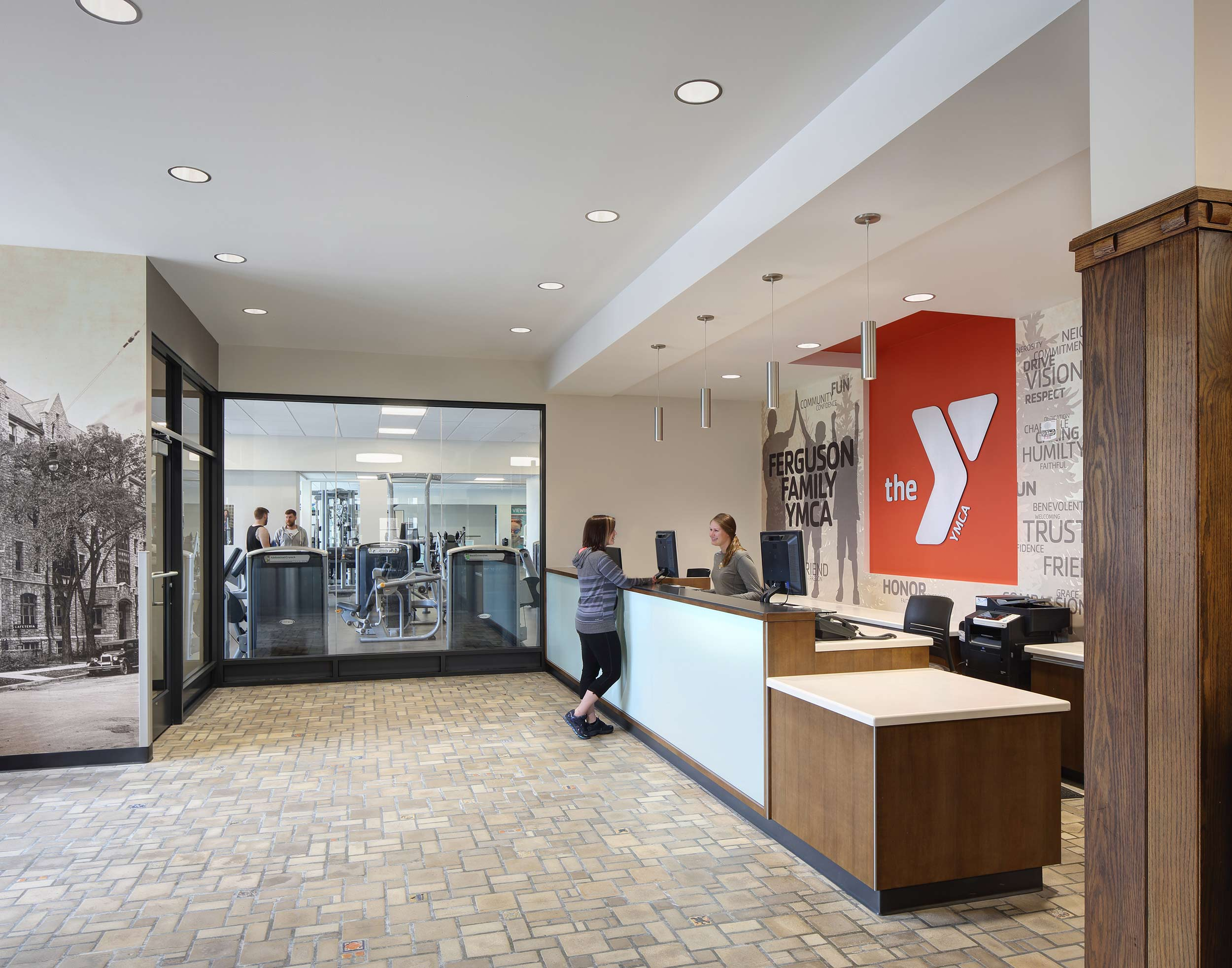 Green Bay health & fitness facility photography