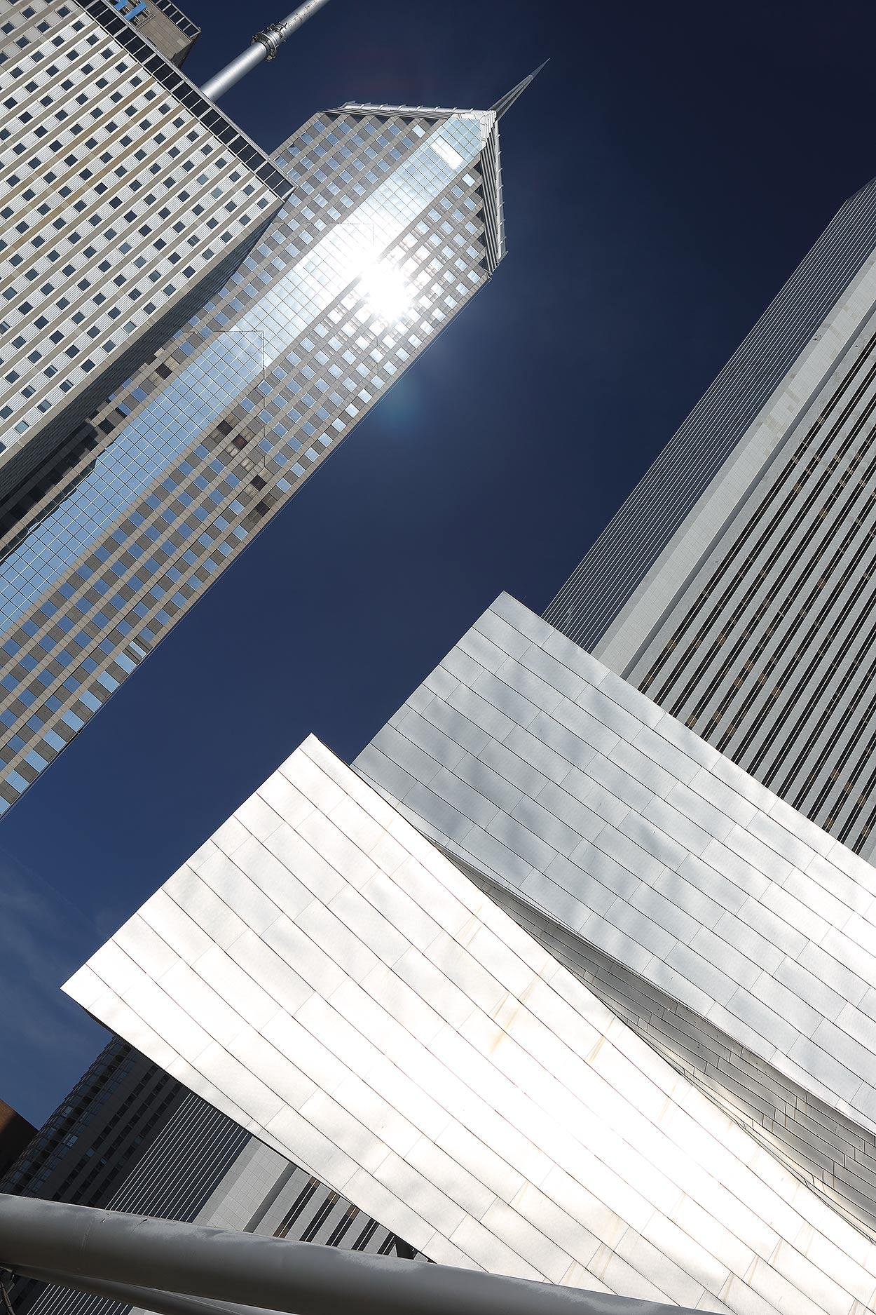 Chicago buildings, city scape