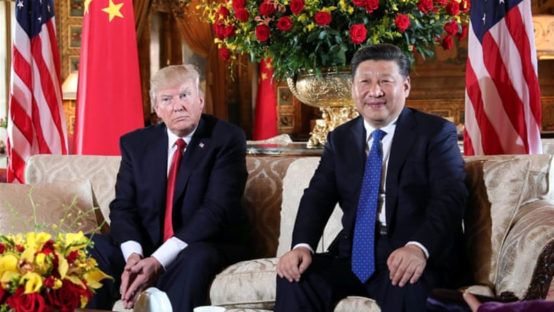 President Trump welcomed President Xi at his Mar-a-Lago estate in Florida [Carlos Barria/Reuters]