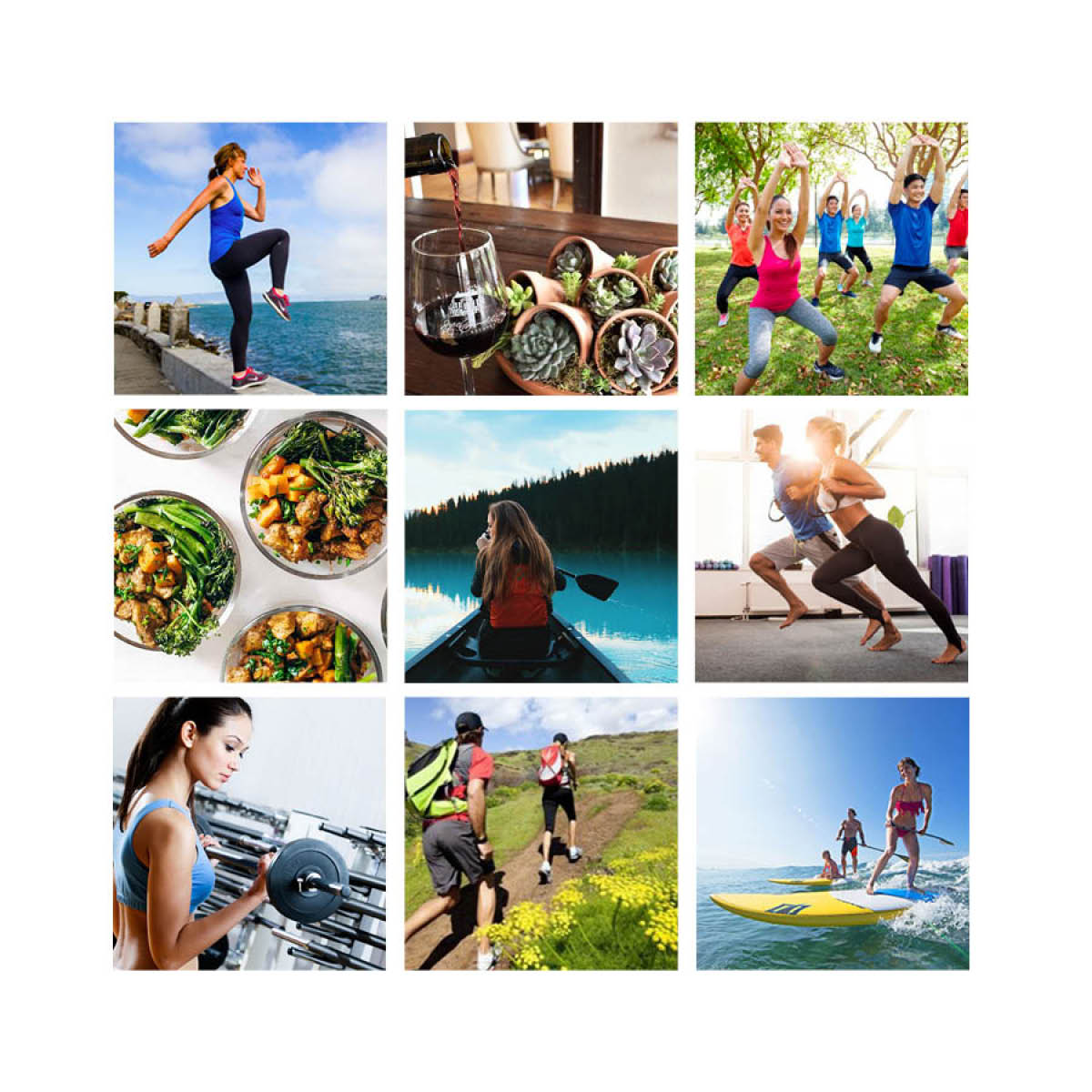 ABC Fitness Vision Board