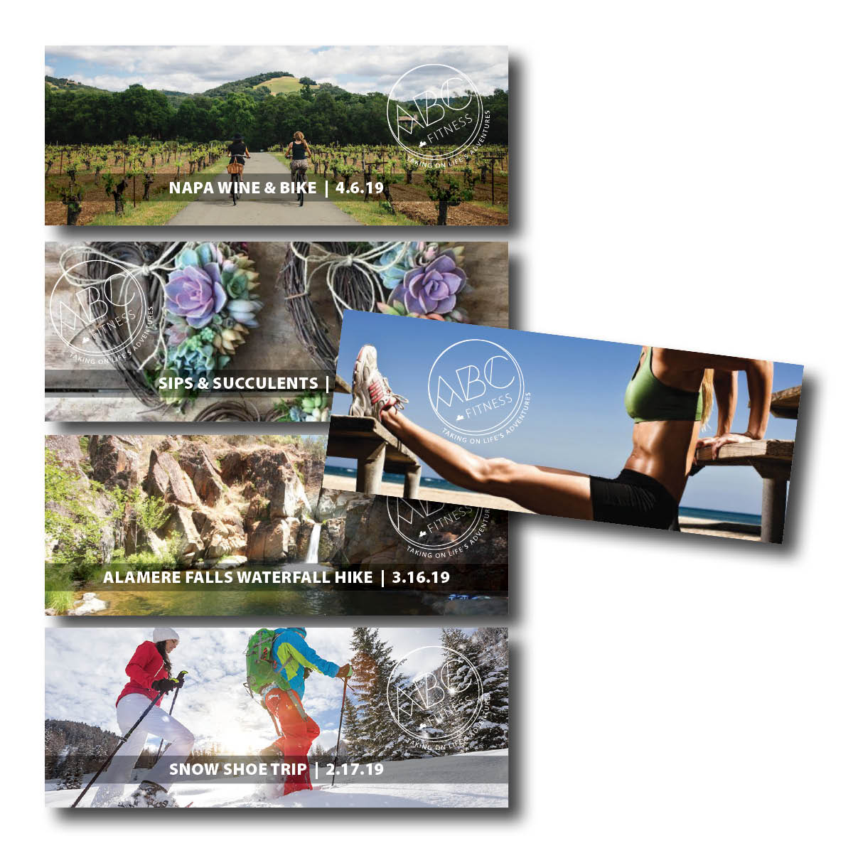 ABC Fitness Marketing Materials