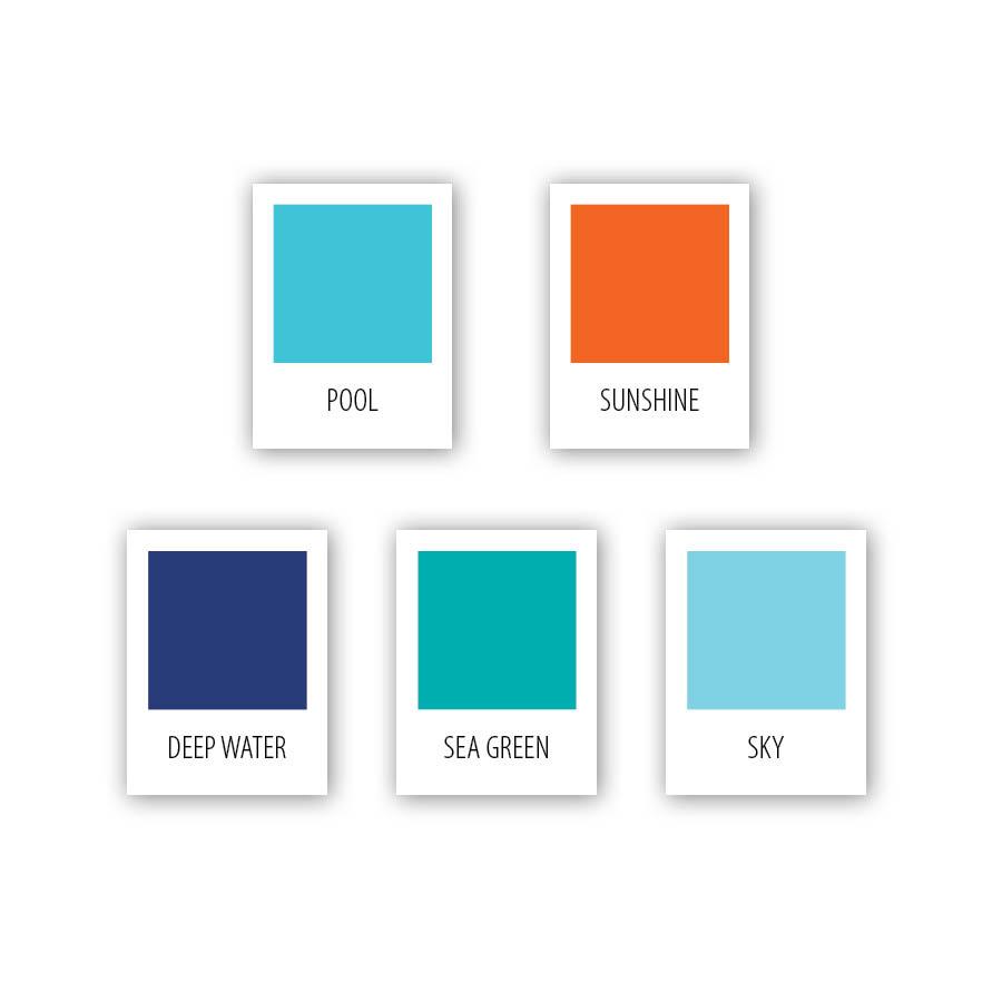 Grover Swim School Color Palette