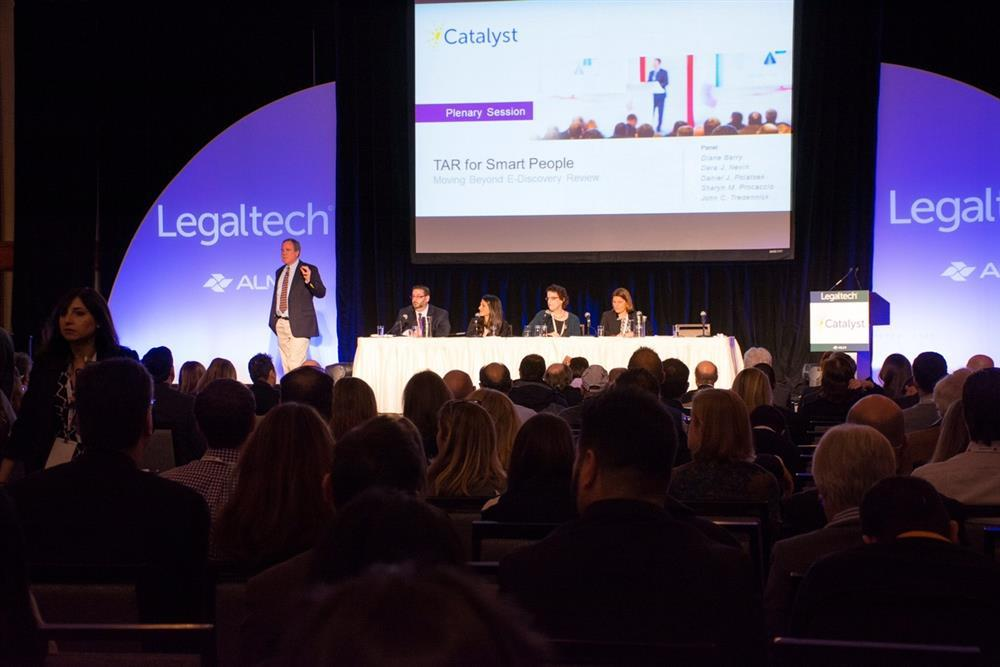 Speaking at LegalTech