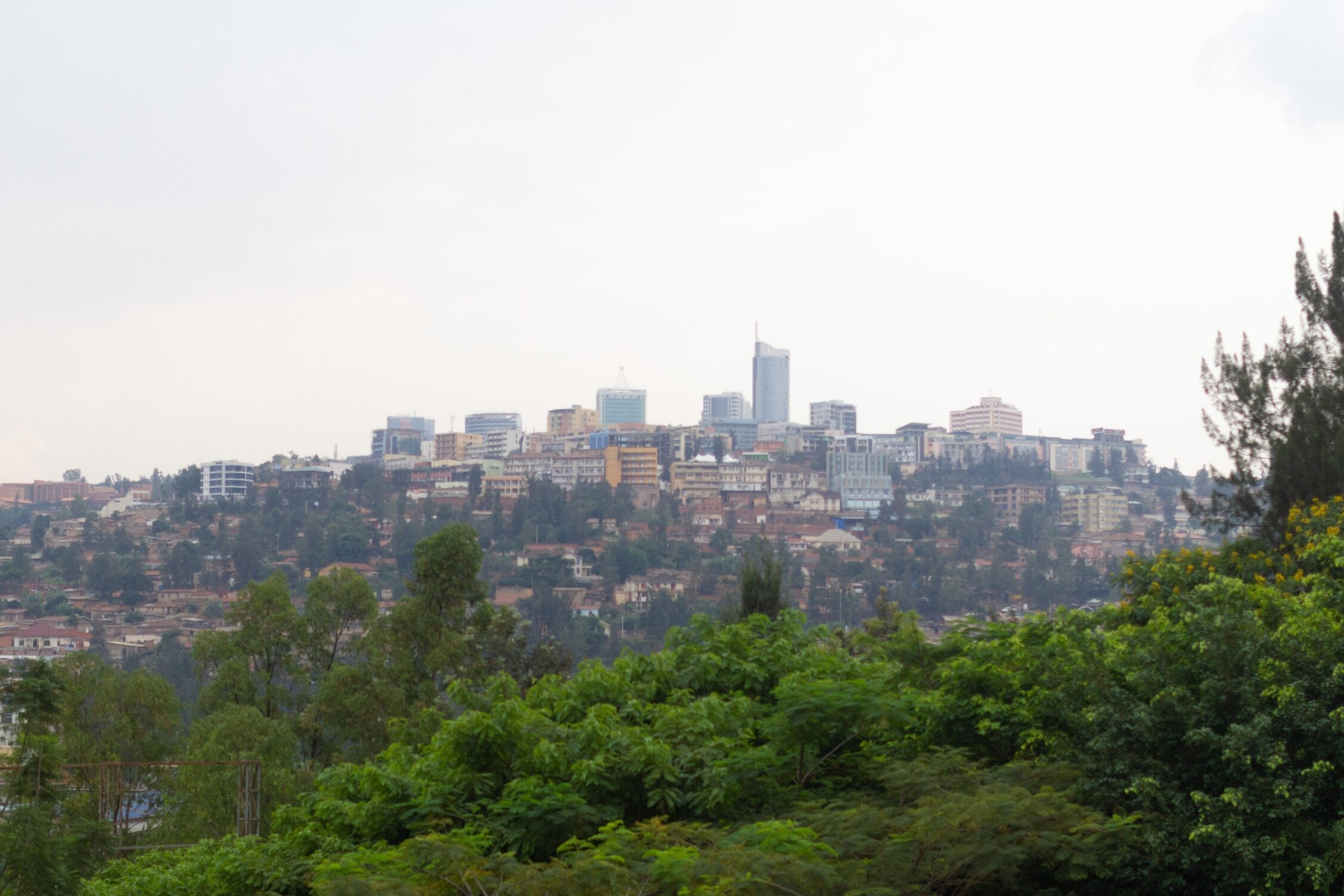 FACT 3: Rwanda has a population densityhigher than England - As of 2017, Rwanda is home to 12 million people spread over 10,000 square miles. That's roughly 1,200 people per square mile versus 1,000 people in England (one of the most densely-populated European nations). Rwanda also beats every US state when it comes to population density.