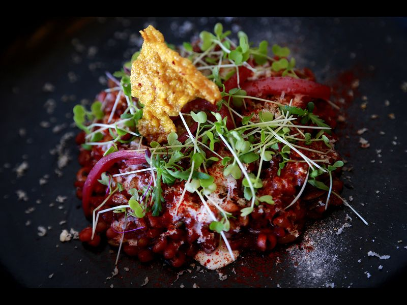 LA Times - Gold review: At Baroo, a taste of the future