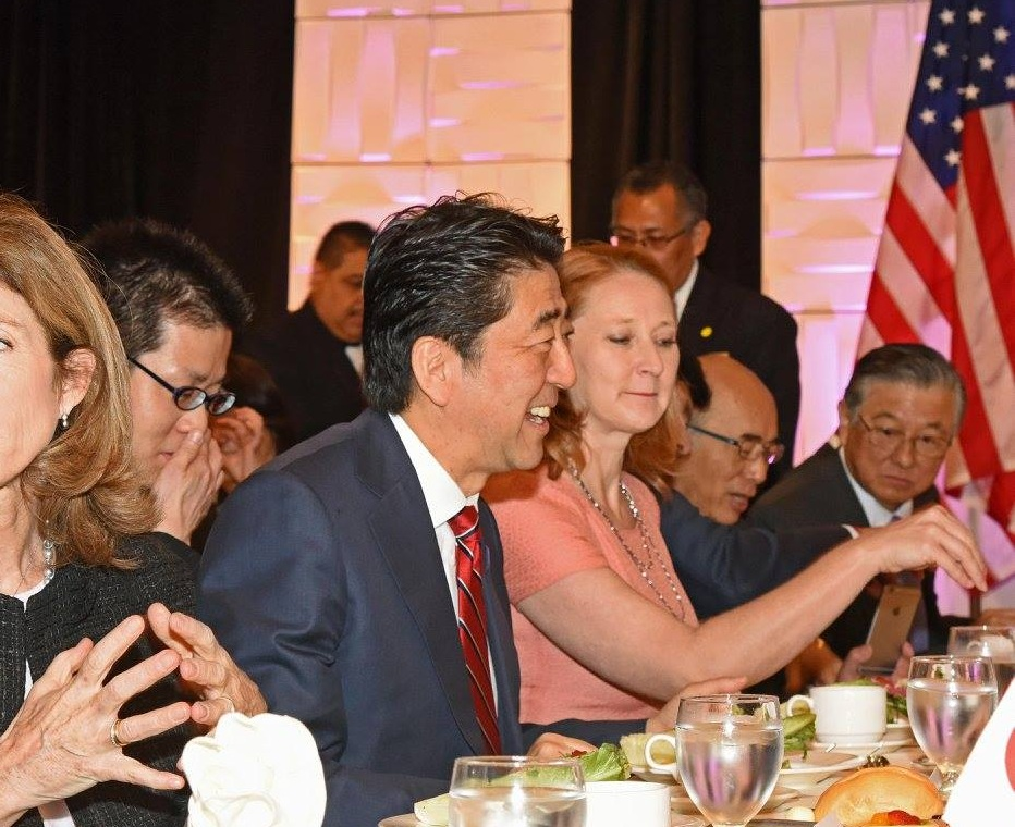 Southern California Welcome Luncheon Prime Minister Shinzo Abe