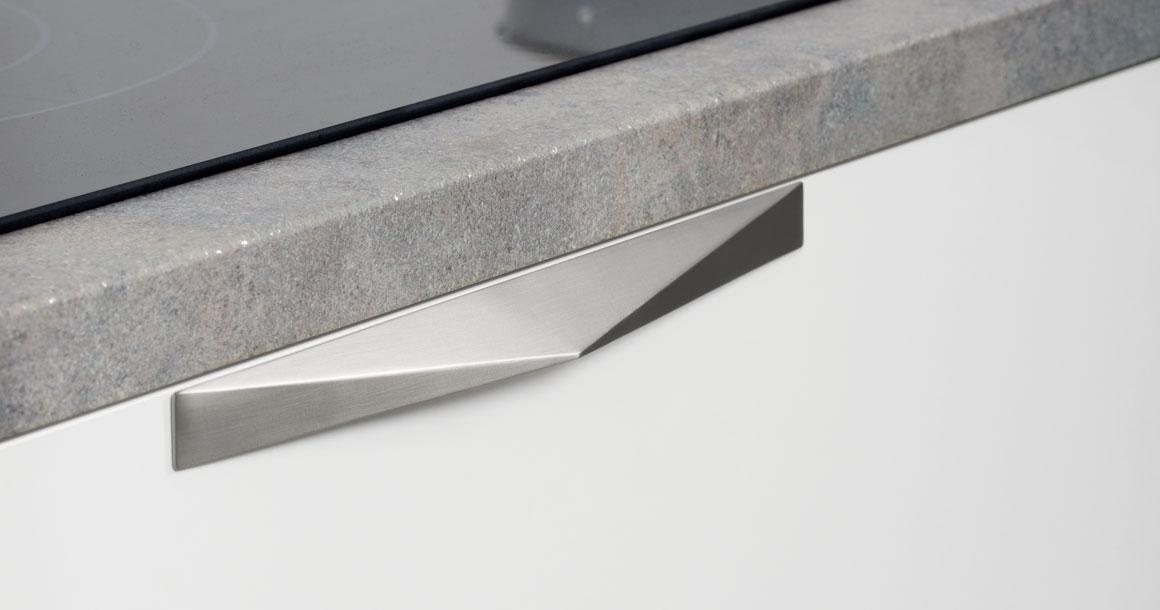 Kares 0306 handle in brushed nickel. (Photo: Viefe)