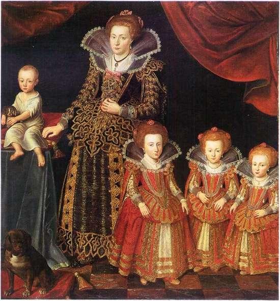 Kirsten Munk. Jacob van Dort 1623