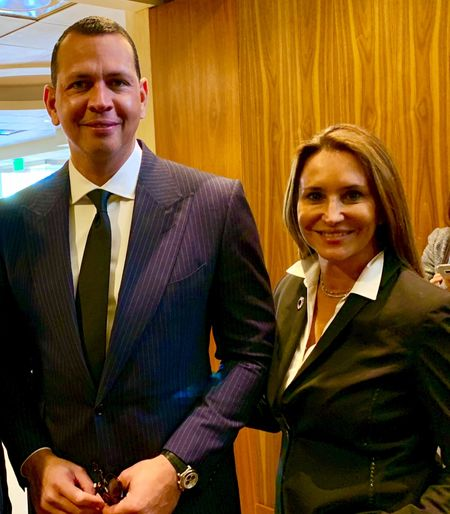 Alex Rodriguez, Founder, and CEO of the A-Rod Corp and 2009 World Series Champion with the New York Yankees.