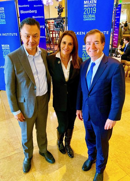 Dino Patti Djalal, founder of the Foreign Policy Community of Indonesia and Ed Royce, Policy Director for Brownstein Hyatt Farber Schreck and Former Chairman of the Committee on Foreign Affairs in the U.S. House of Representatives.