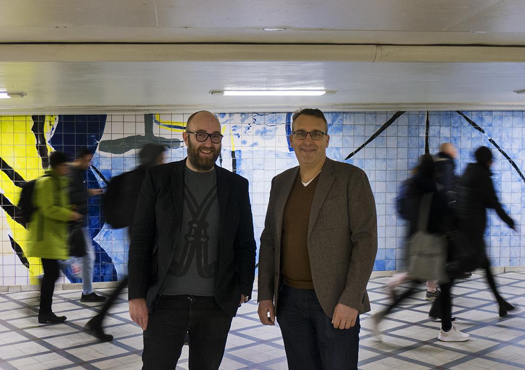 Fr.v: Linus Masimov, Patric Kjellin