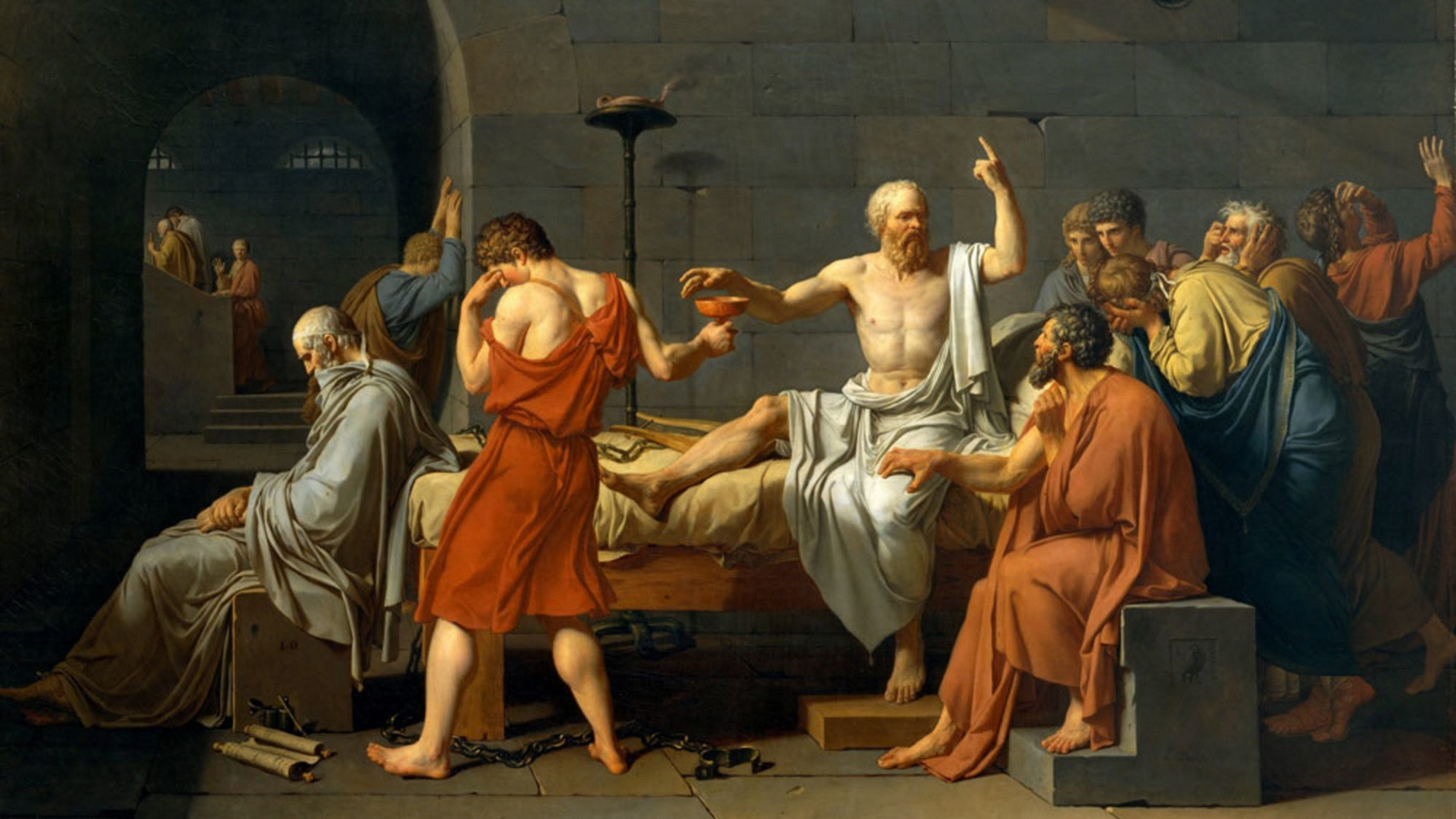 the trial of socrates, nerds