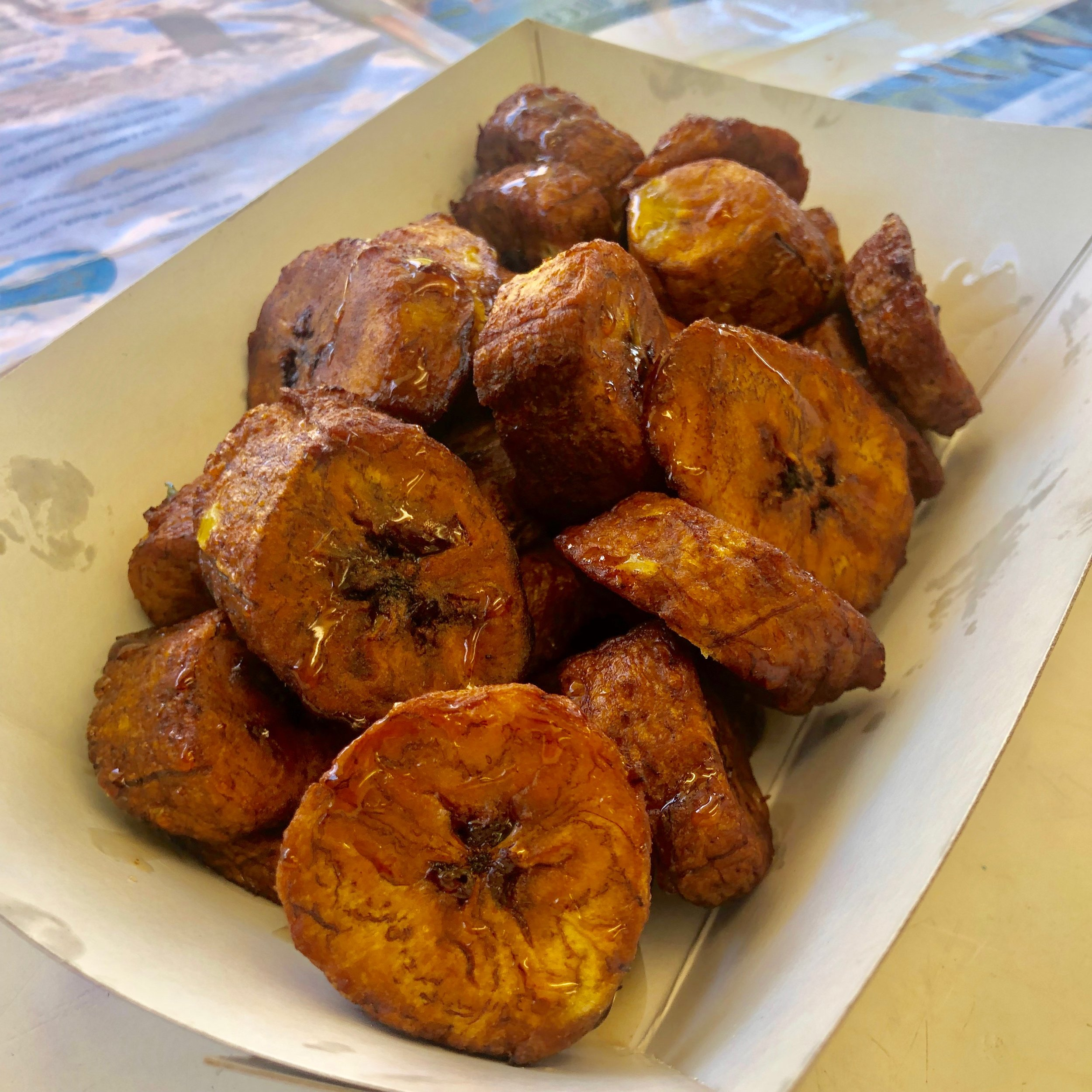 Sweet Plantains fried to perfection!