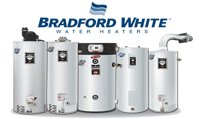 Bradford white - Made in America. Outstanding warranty. One of the longest lasting hot water tanks on the market. They back their commercial tanks with an outstanding 10 year warranty and their residential tanks come with a 6 year warranty.