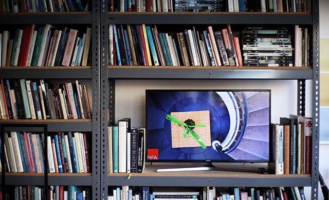 Office essentials  #architecture #interiordesign #slideshow #tv #portfolio #bookshelf #essentials