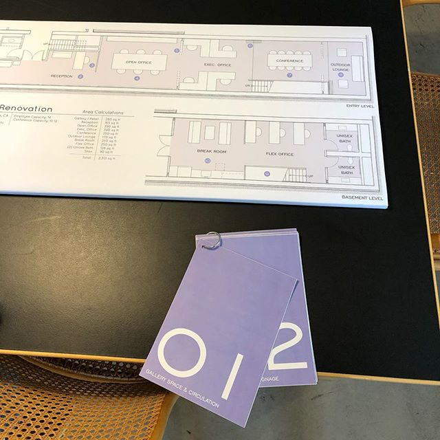 Preparation for a client meeting we had last week. We used a floor plan with a series of precedent images to explain our conceptual design for a commercial renovation in Jackson Square  #sanfrancisco #sanfranciscodesign #precedentimages #floorplan #conceptualdesign #renovation #remodel