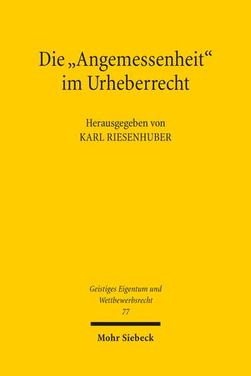 ISBN: 978-3-16-152218-5
