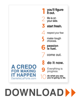 credo-making-happen-2012-poster
