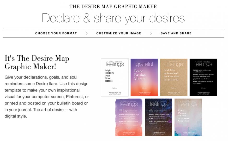 desire map graphic maker