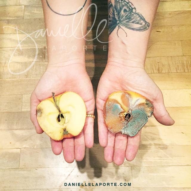 Danielle LaPorte apple experiment