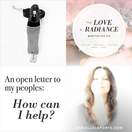 Loving your problems, the courageous act of stillness, and my Love + Radiance Meditation. My first Roundup of 2018 is here!