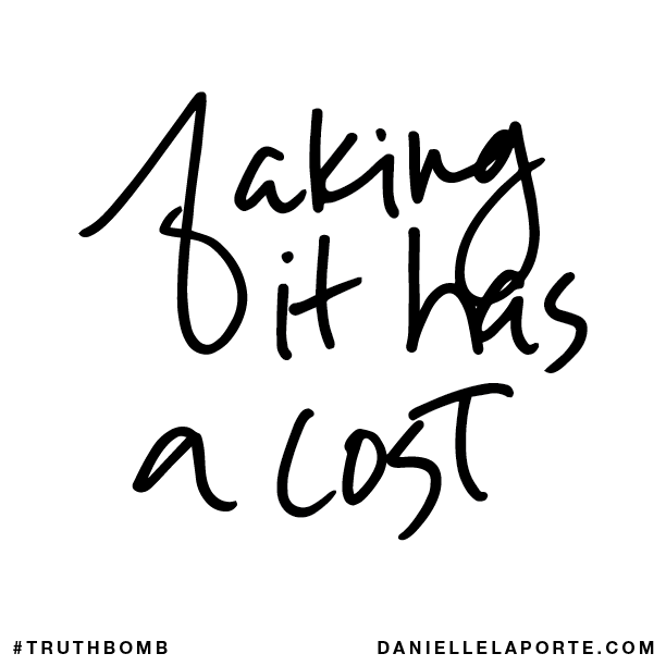 Faking it has a cost..png