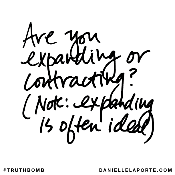 Are you expanding or contracting? (Note- expanding is often ideal.).png