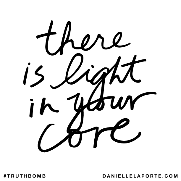 There is light in your core..png