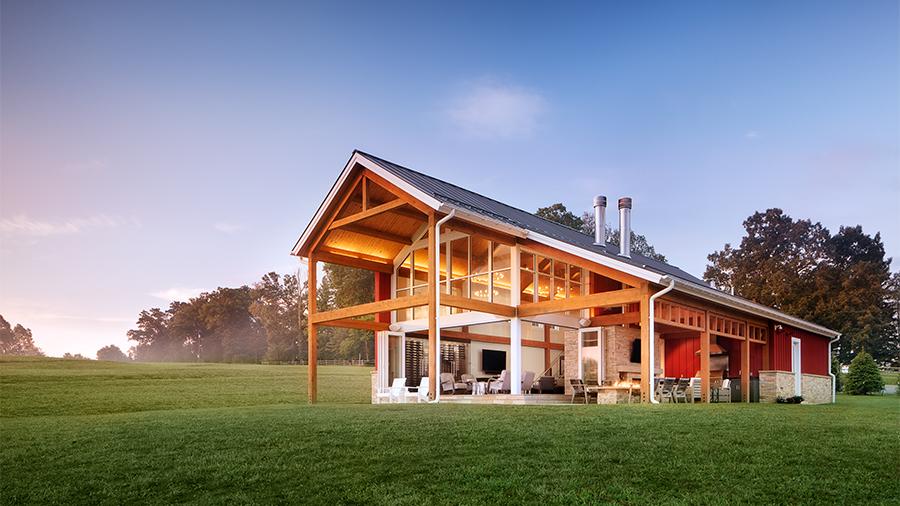 Latrobe Residence - Entertainment Barn, DLA+