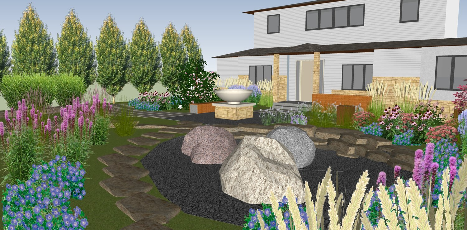 INNovation STUDIO LANDSCAPE — SERVICES on rain barrels, rain gutter downspout design, rain gardens 101, rain harvesting system design, french drain design, dry well design, gasification design, rain illustration, rain construction, rain water design, bioswale design, rain art drawings, rain roses,