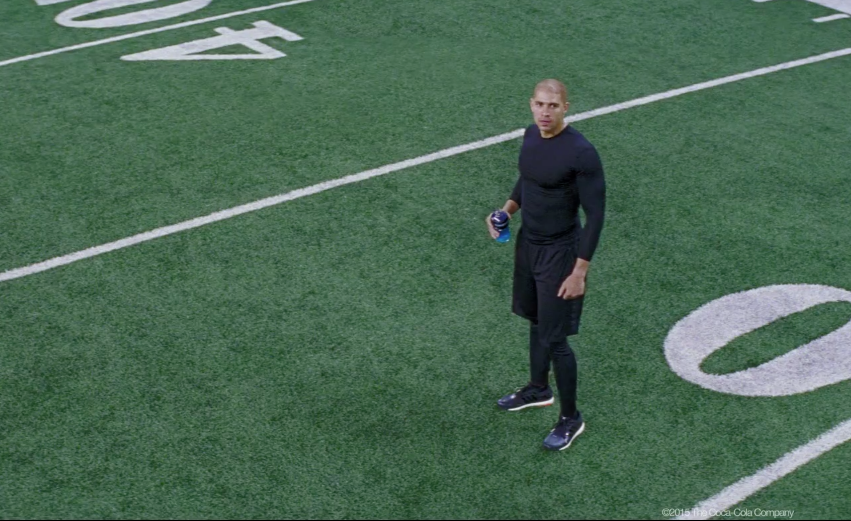 Jimmy Graham - Powerade Commercial
