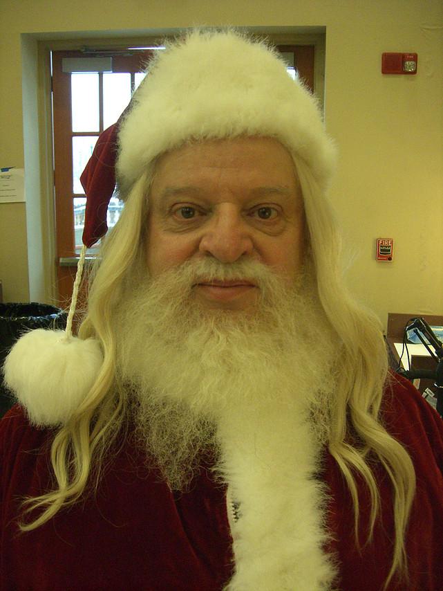 Santa Wig + Facial Hair