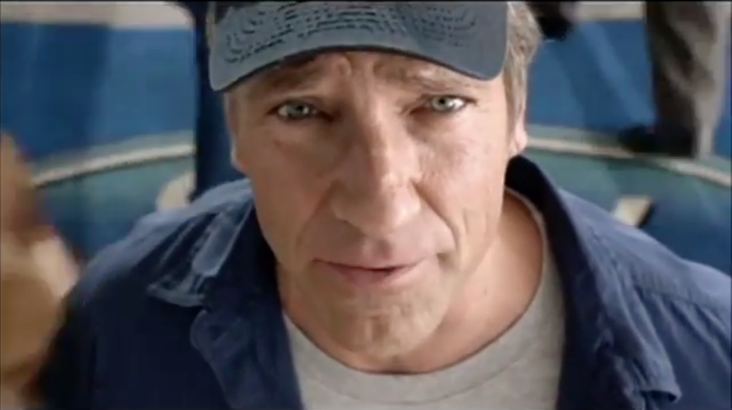 Mike Rowe - Ford Commercial