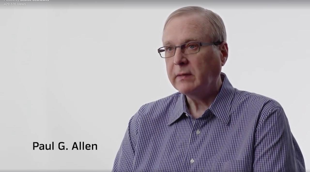 Paul Allen - Vulcan / Seahawks