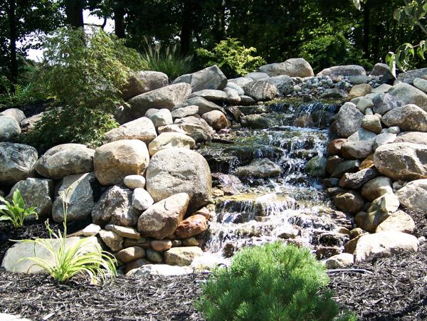 Water Fall Rocks