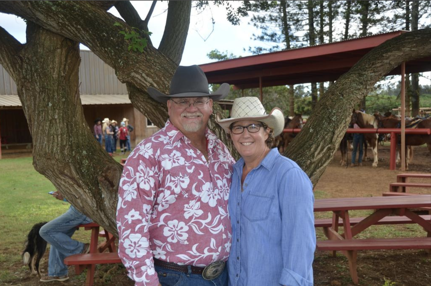 Greg Smith and his wife, Kyndra, have grown the cattle and horse ranch into an agritourism business that offers trail rides and UTV tours, and serves as an event space and horse boarding facility.   COURTESY OF GUNSTOCK RANCH