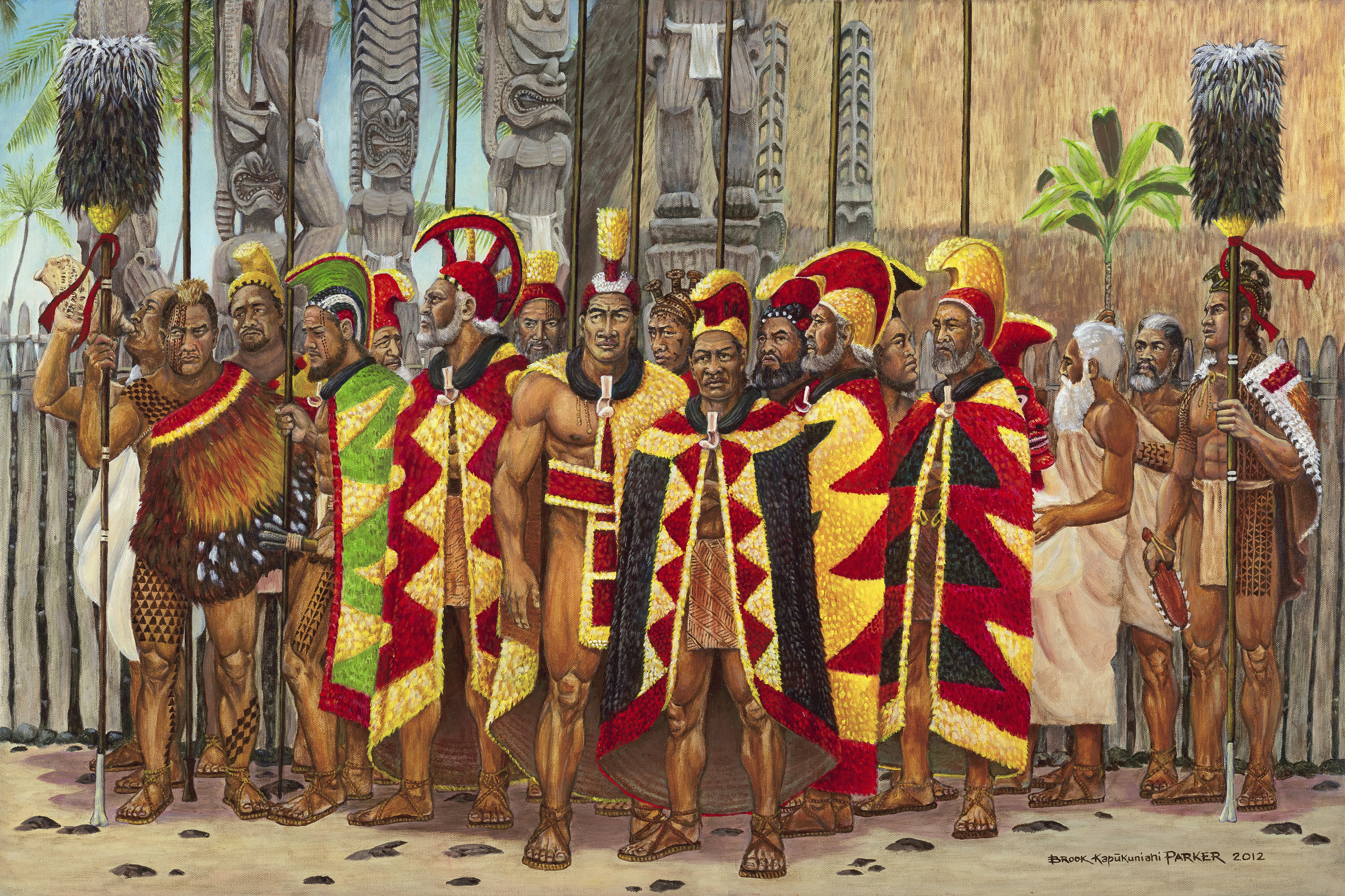Aha'ula o Kamehameha Kunuiākea   by Brook Kapukuniahi Parker