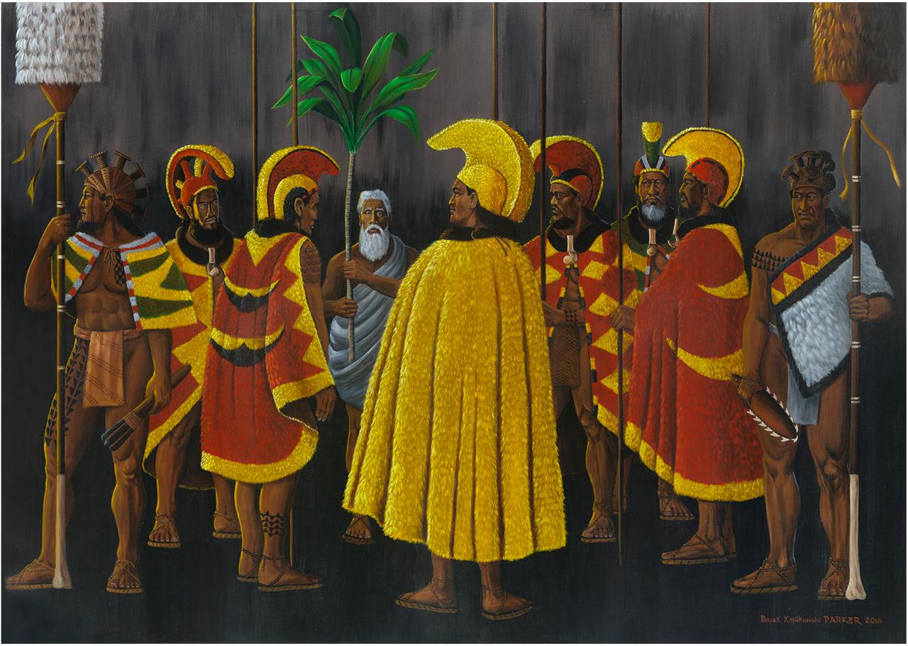 The Golden Cloak O Kamehameha