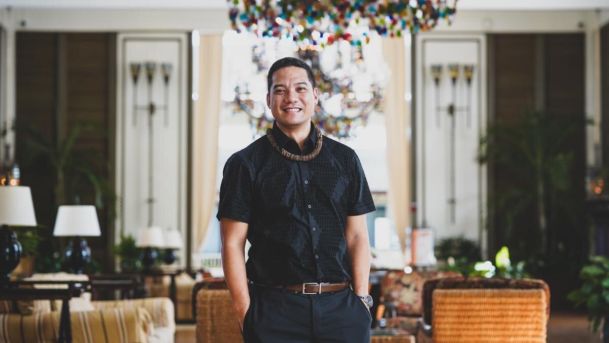 Joe Ibarra, general manager of The Kahala Hotel & Resort    COURTESY THE KAHALA HOTEL & RESORT
