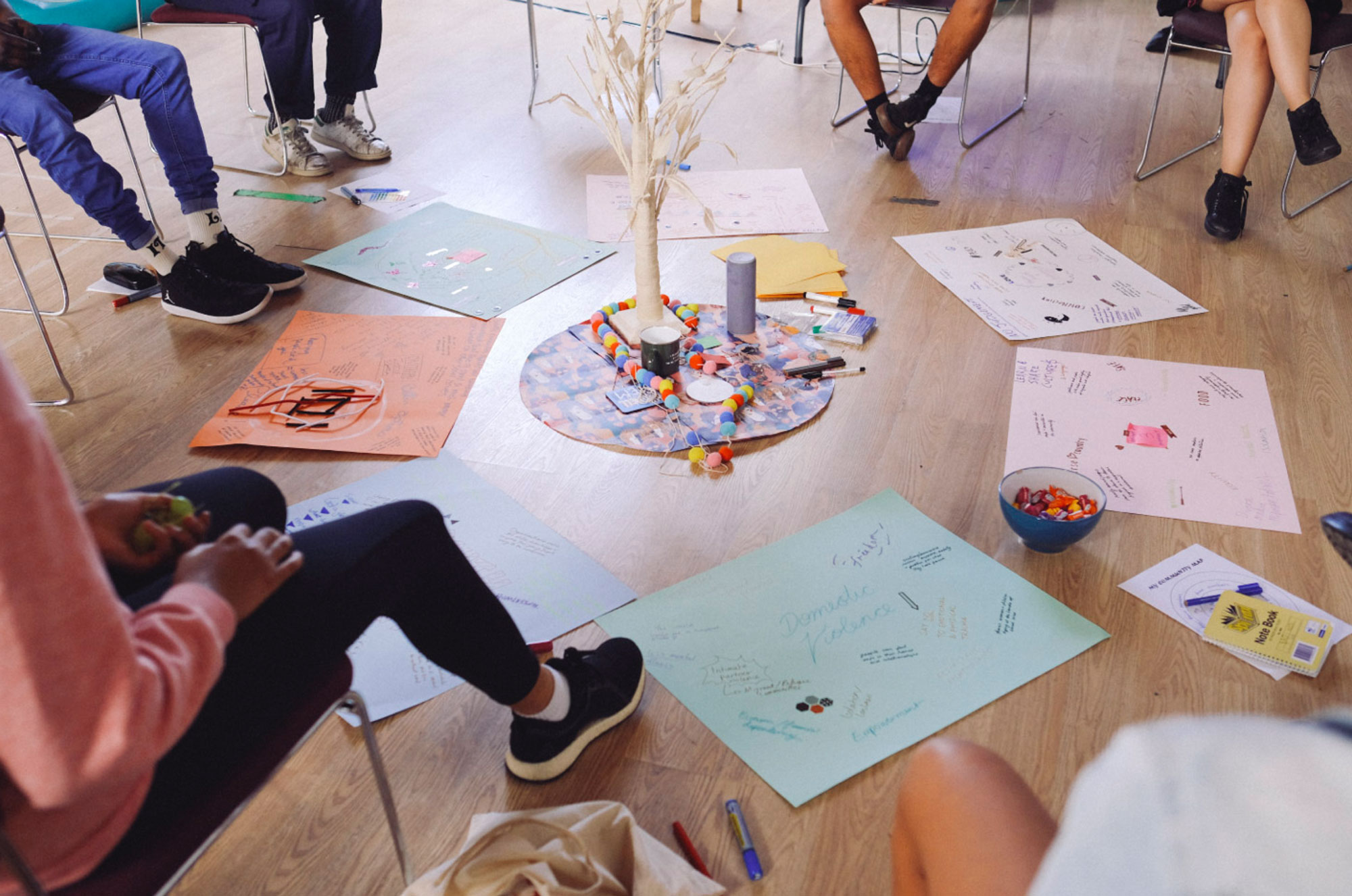 Young Initiators circle, Carlton / Yarra workshop, March 2019