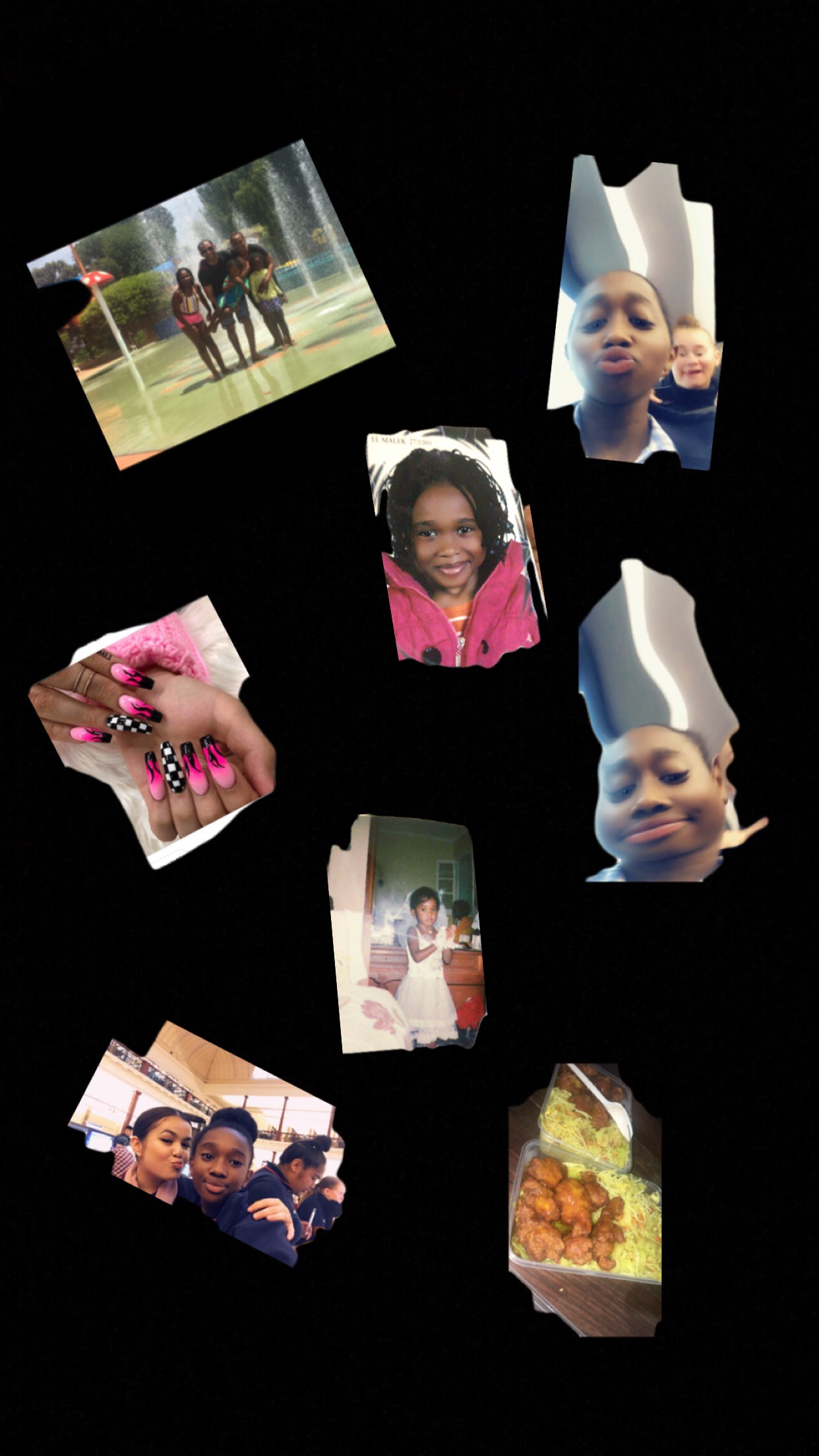 Alana's personality collage