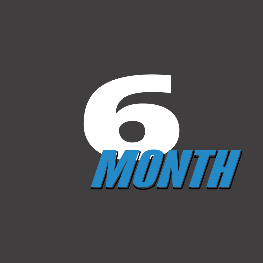 6 Month Unlimited - $165